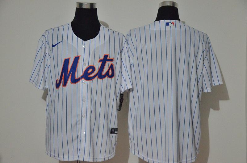 Mets Blank White Nike 2020 Cool Base Jersey