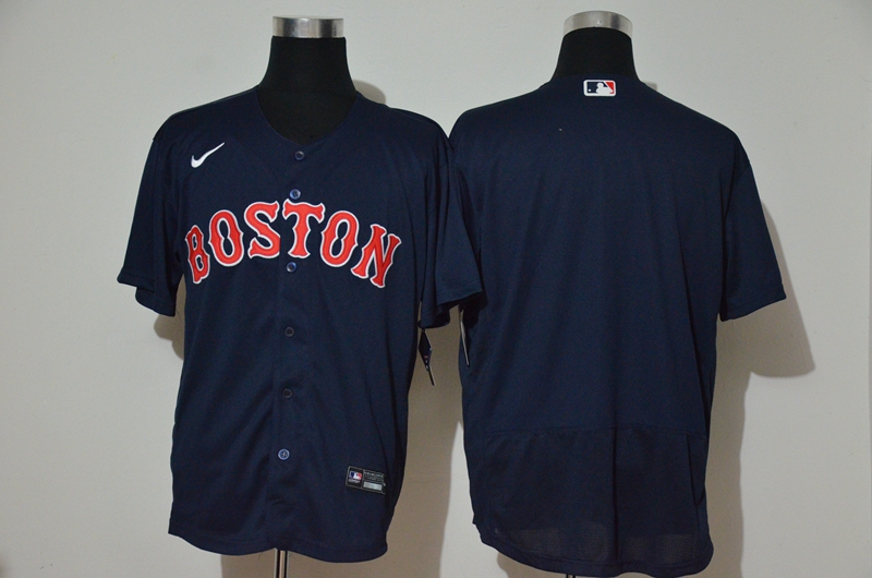 Red Sox Blank Navy 2020 Nike Flexbase Jersey