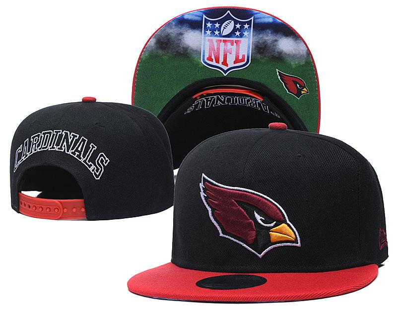 Cardinals Team Logo Black Adjustable Hat GS