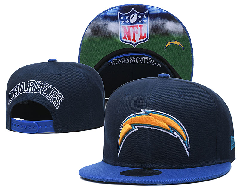 Chargers Team Logo Navy Adjustable Hat GS