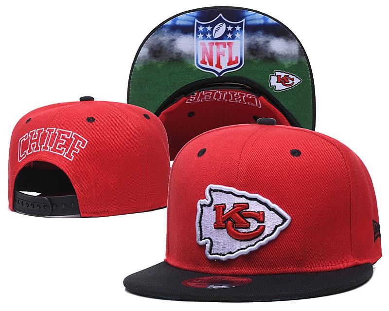 Chiefs Team Logo Red Adjustable Hat GS