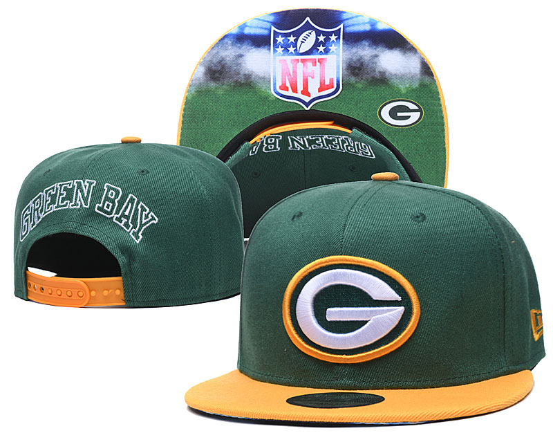 Packers Team Logo Green Adjustable Hat GS