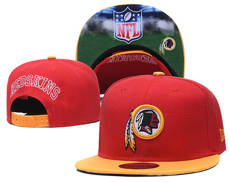 Redskins Team Logo Red Adjustable Hat GS