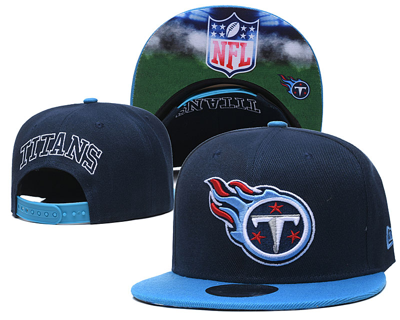 Titans Team Logo Navy Adjustable Hat GS