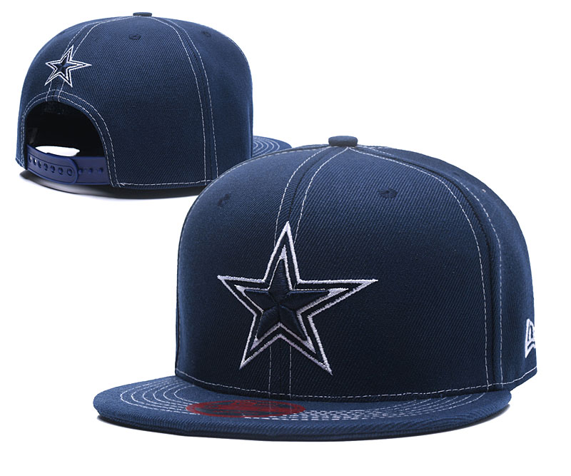 Cowboys Team Logo Navy Adjustable Hat LT