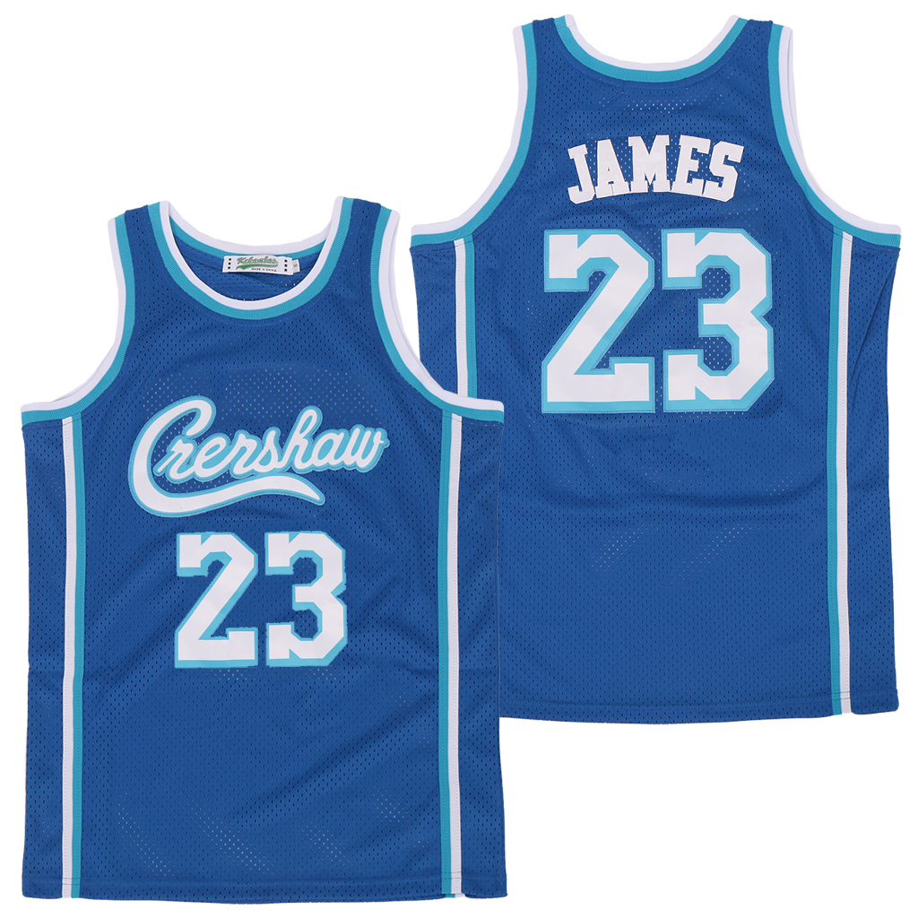 Lakers 23 Lebron James Blue Swingman Jersey