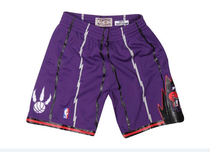 Raptors Purple Hardwood Classics Shorts
