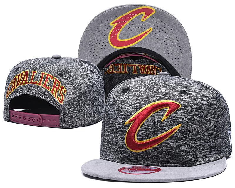 Cavaliers Team Logo Gray Adjustable Hat TX