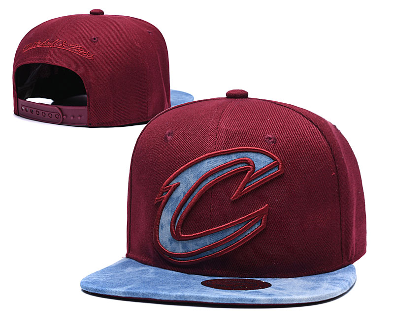 Cavaliers Team Logo Red Adjustable Hat TX