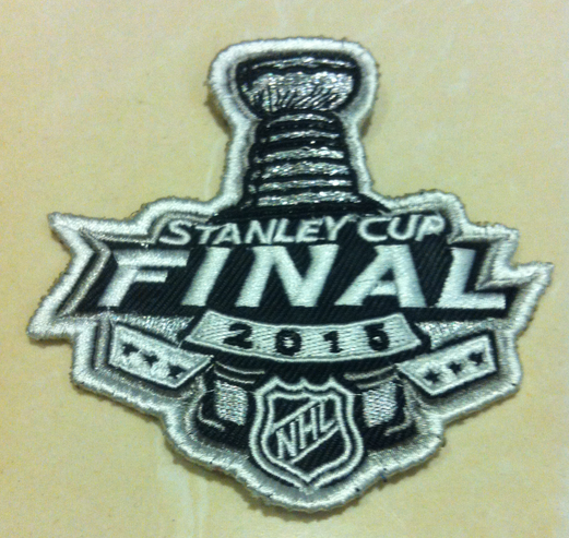 NHL 2015 Stanley Cup Final Patch
