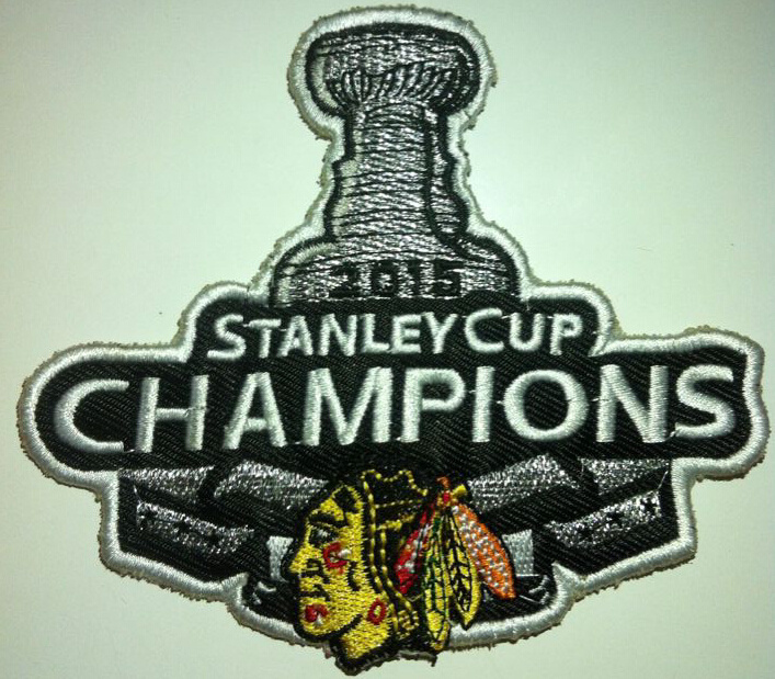 Blackhawks 2015 Stanley Cup Champions Patch