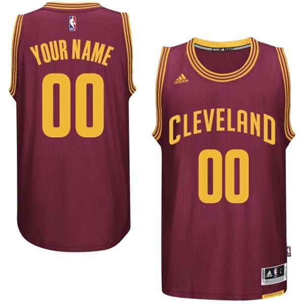 Cleveland Cavaliers Red Men's Customize New Rev 30 Jersey