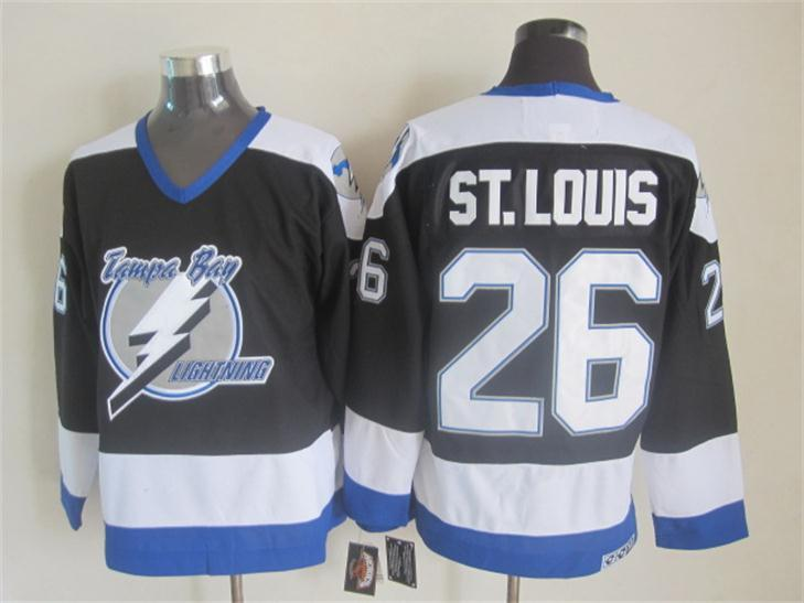 Lightning 26 St.Louis Black CCM Jersey