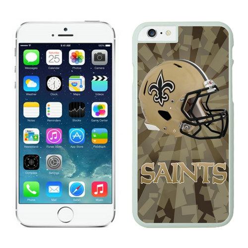 New Orleans Saints iPhone 6 Plus Cases White10