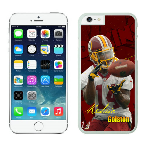 Washington Redskins iPhone 6 Plus Cases White10
