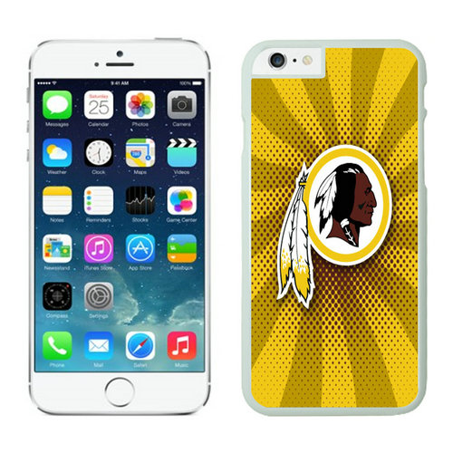 Washington Redskins iPhone 6 Plus Cases White23