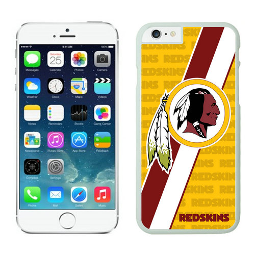 Washington Redskins iPhone 6 Plus Cases White26