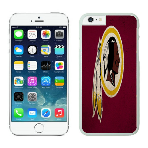 Washington Redskins iPhone 6 Plus Cases White34