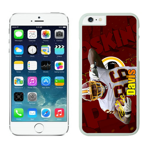 Washington Redskins iPhone 6 Plus Cases White45
