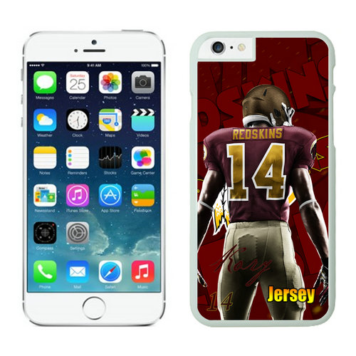 Washington Redskins iPhone 6 Plus Cases White8