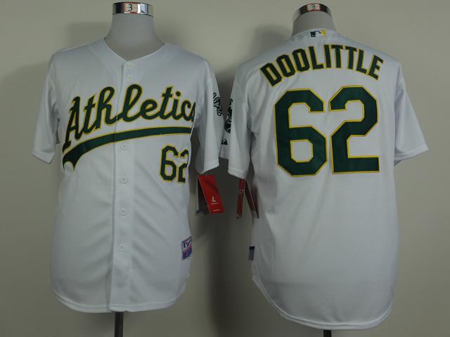 Athletics 62 Doolittle White Cool Base Jerseys