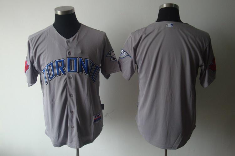 Blue Jays blank grey Jerseys