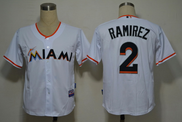 Miami Marlins 2 Ramirez White 2012 Jerseys