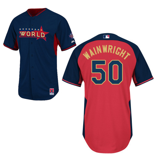 World 50 Wainwright Blue 2014 Future Stars BP Jerseys