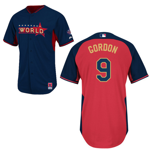 World 9 Gordon Blue 2014 Future Stars BP Jerseys
