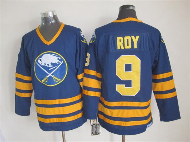Sabres 9 Roy Blue CCM Jersey