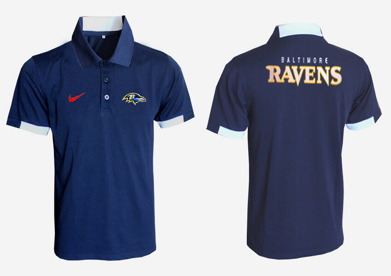 Nike Ravens D.Blue Polo Shirt