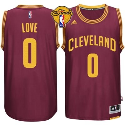 Cavaliers 0 Love Red 2015 NBA Finals New Rev 30 Jersey