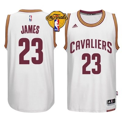 Cavaliers 23 James White 2015 NBA Finals New Rev 30 Jersey