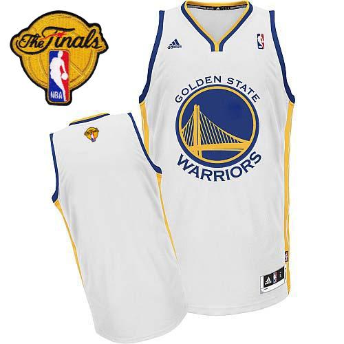 Warriors Blank White 2015 NBA Finals New Rev 30 Jersey