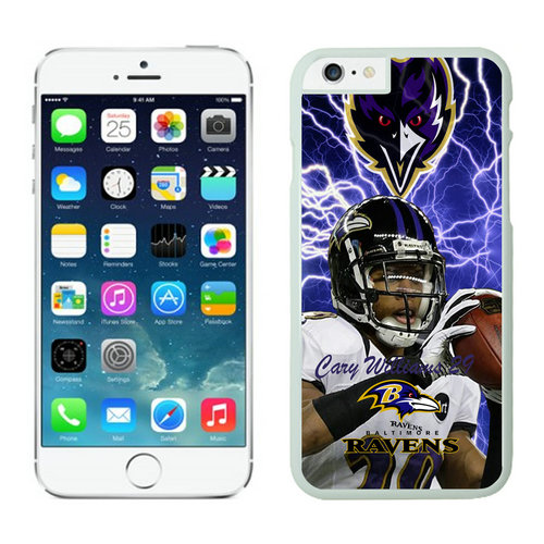 Baltimore Ravens iPhone 6 Cases White22