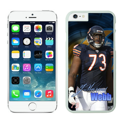 Chicago Bears iPhone 6 Cases White55
