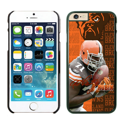 Cleveland Browns iPhone 6 Cases Black
