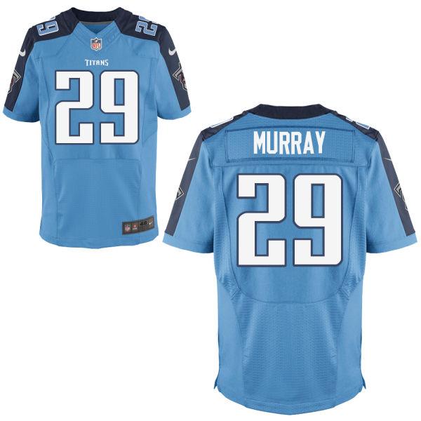 Nike Titans 29 DeMarcus Murray Light Blue Elite Jersey