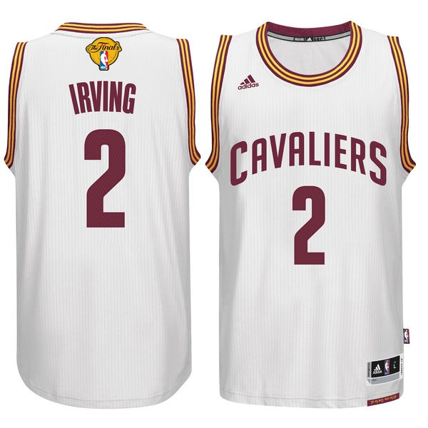 Cavaliers 2 Kyrie Irving White 2016 NBA Finals Swingman Jersey