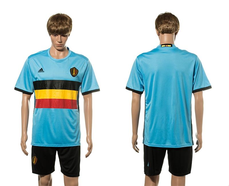 Belgium Away UEFA 2016 Customized Soccer Jersey
