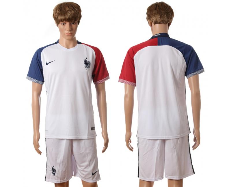 France Away UEFA 2016 Customized Soccer Jersey
