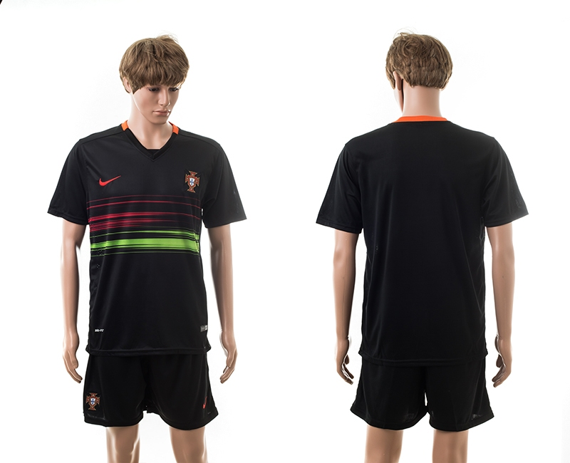 Portugal Away UEFA 2016 Customized Soccer Jersey