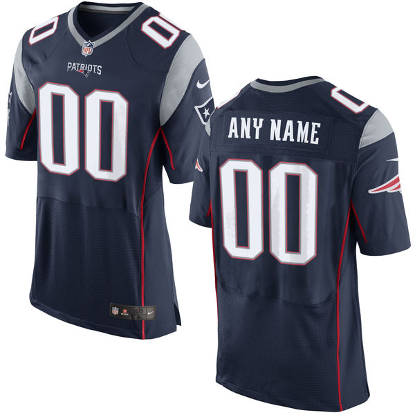 07c18de03 Nike New England Patriots Navy Men s Custom Elite Jersey