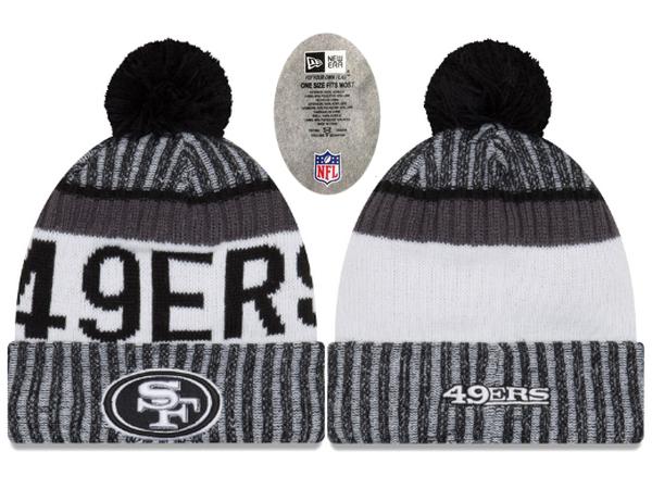 49ers Team Logo Knit Hat