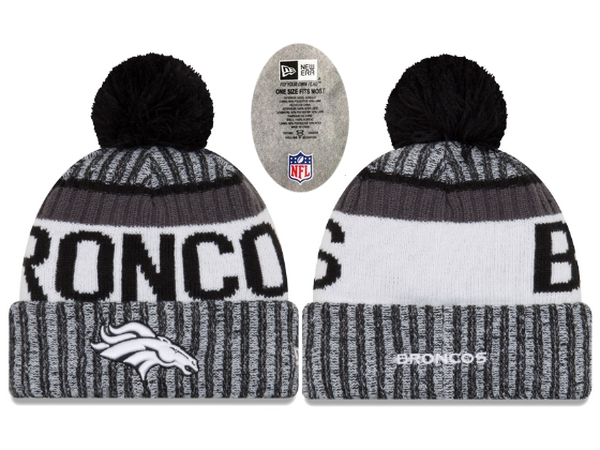 Broncos Team Logo Knit Hat