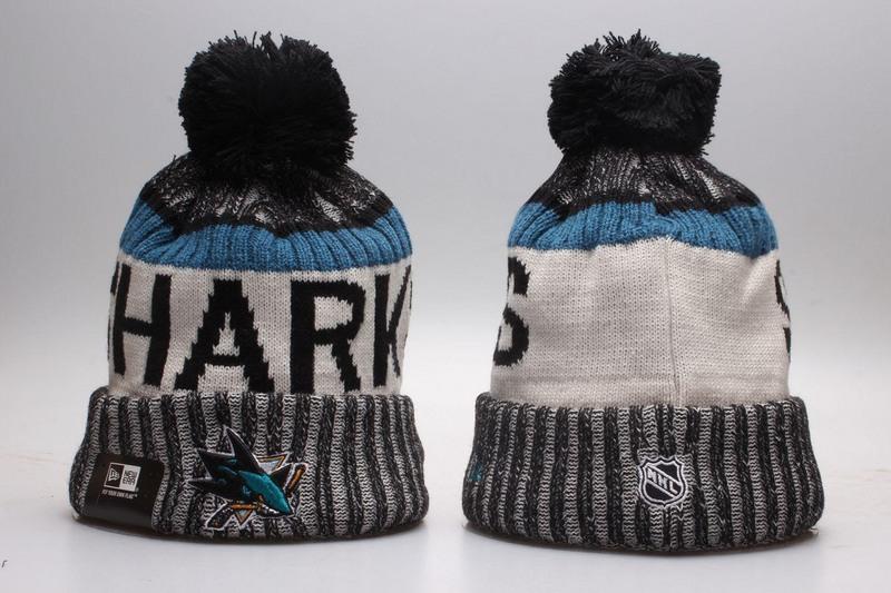 Sharks Team Logo Knit Hat YP