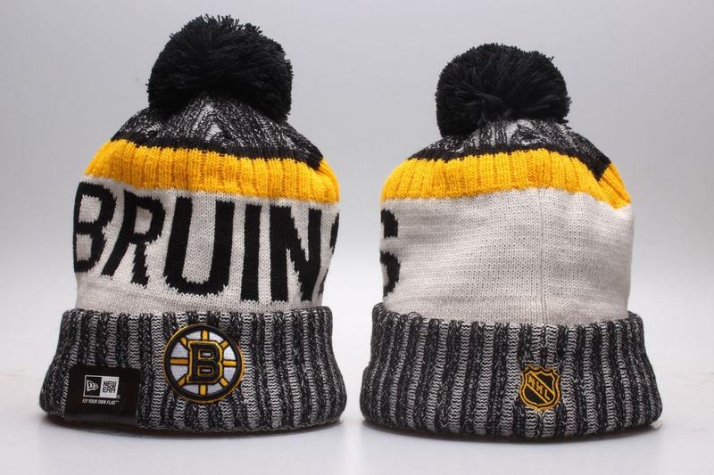 Bruins Team Logo Knit Hat YP