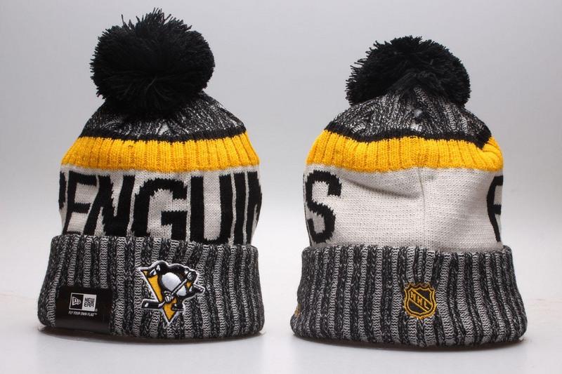 Penguins Team Logo Knit Hat YP