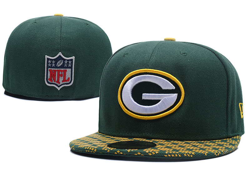 Packers Team Logo Green Fitted Hat LX