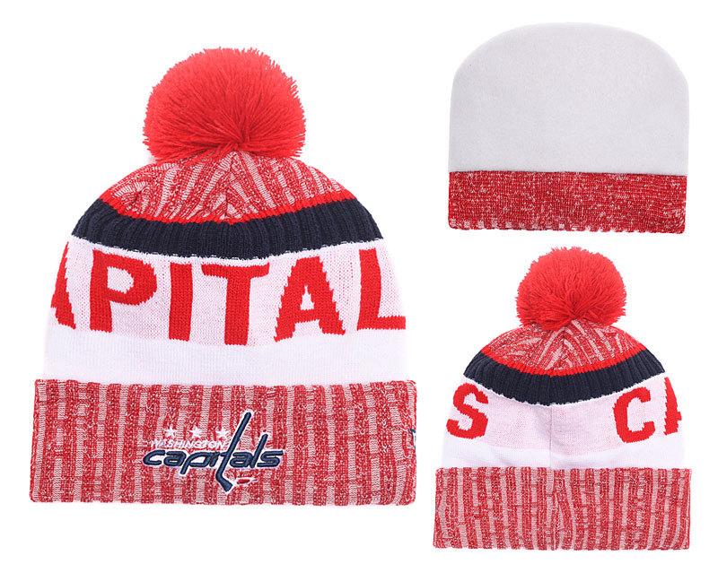 Capitals Team Logo Knit Hat YD